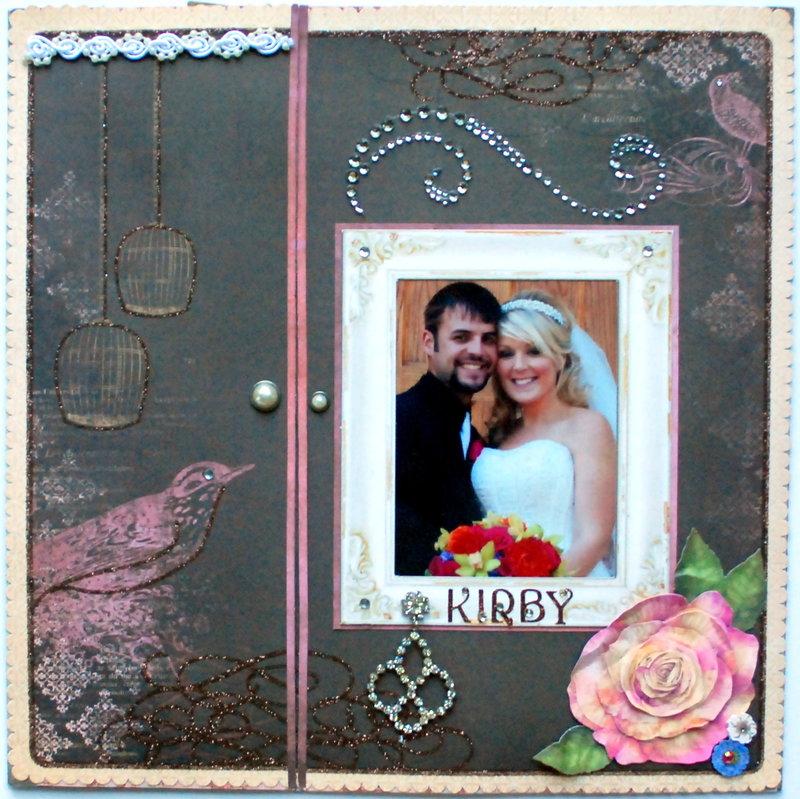 """""""Kirby"""" Tri-fold wedding LO"""