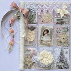 "Elegant Shabby Chic ""Winter"" Pocket Letter for Karin"