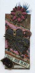 "Tag#2 Steampunk Project ""Trust your Heart"""