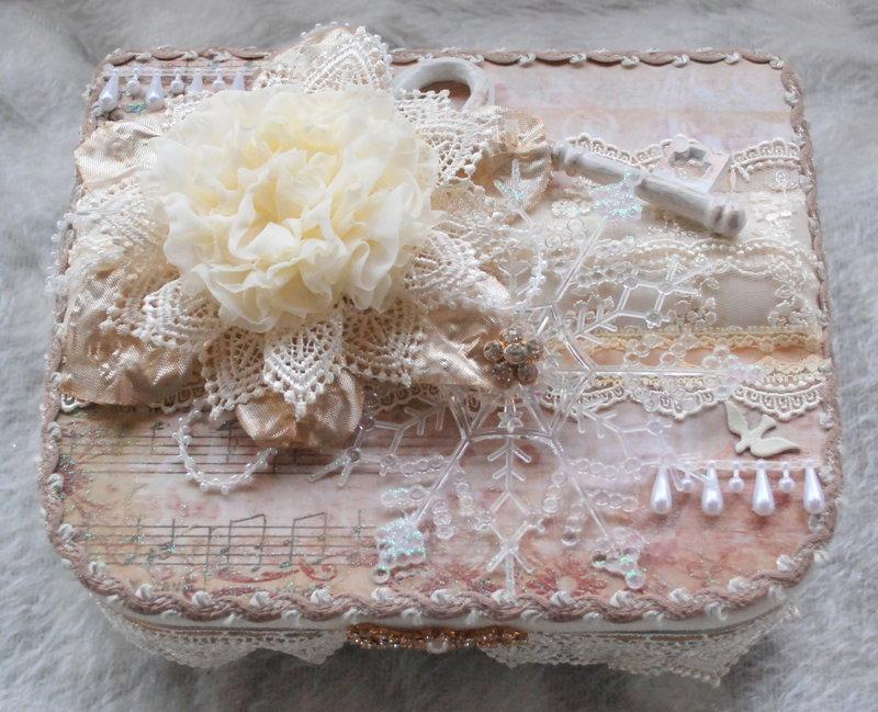 Christmas Embellishment Box for Jessica