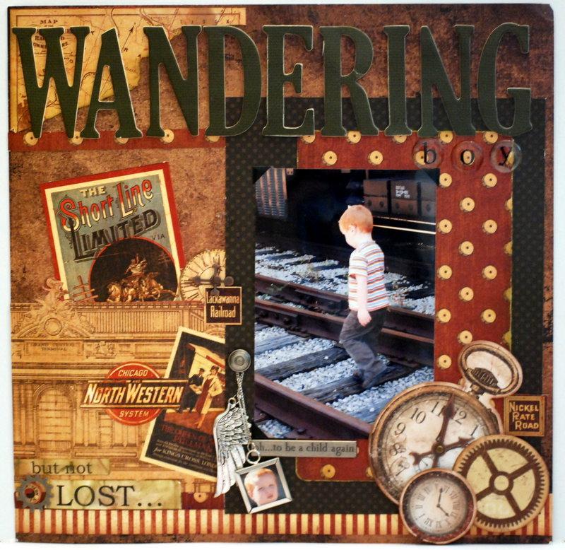 """""""Wandering"""" pg2"""