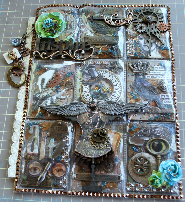 Steampunk Mixed Media  PL for Carri