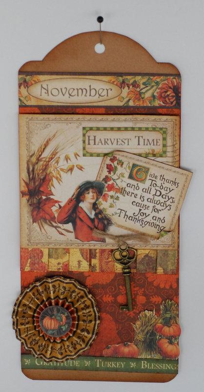 """""""November Harvest"""" tag"""
