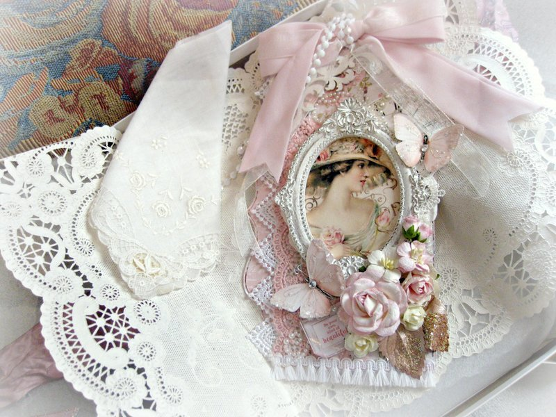 Shabby Chic Tag for Linny