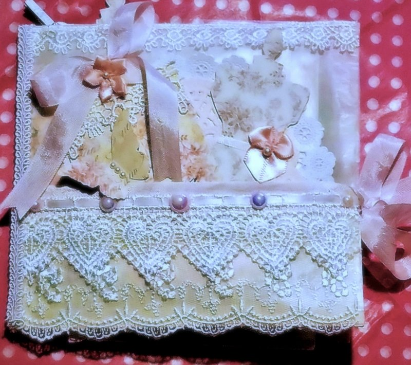 Shabby Chic Package for Die Cut Swap