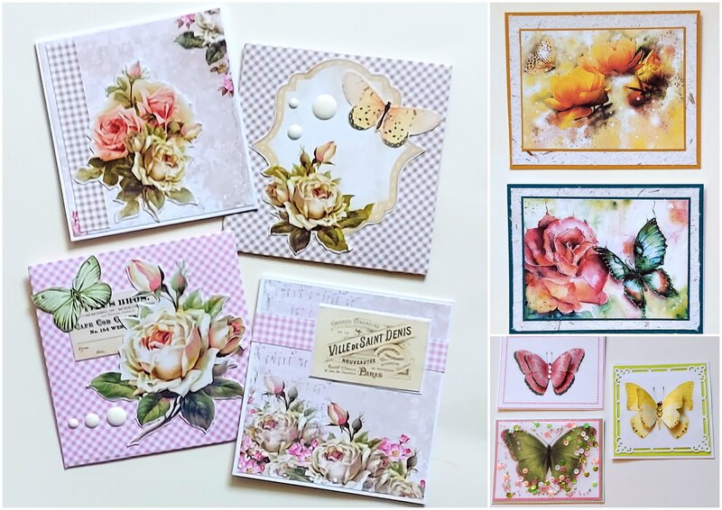 A2 size and small note cards