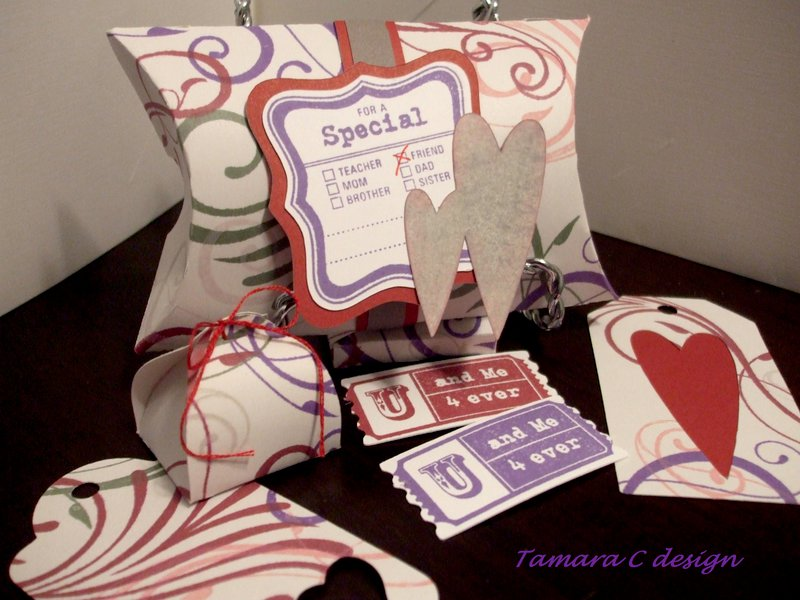 Valentine Treat boxes and tags