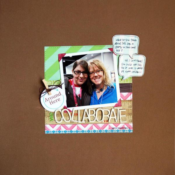 We Collaborate | April Cocoa Daisy