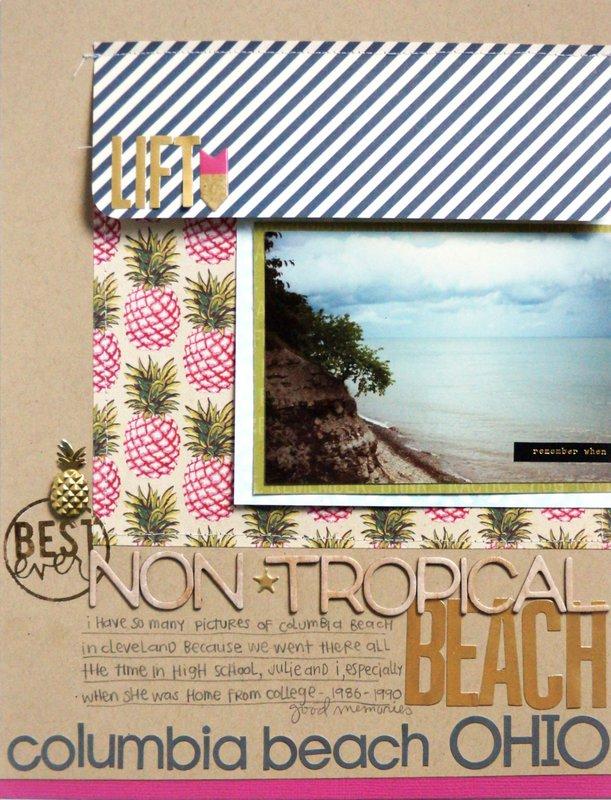 Non-Tropical Beach