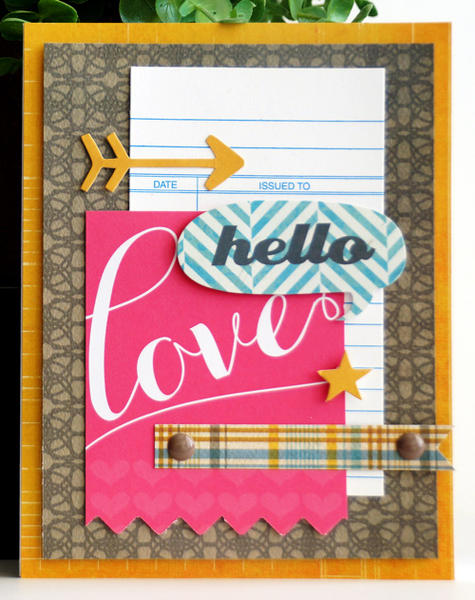 Hello Love card *Cocoa Daisy Jan 13*