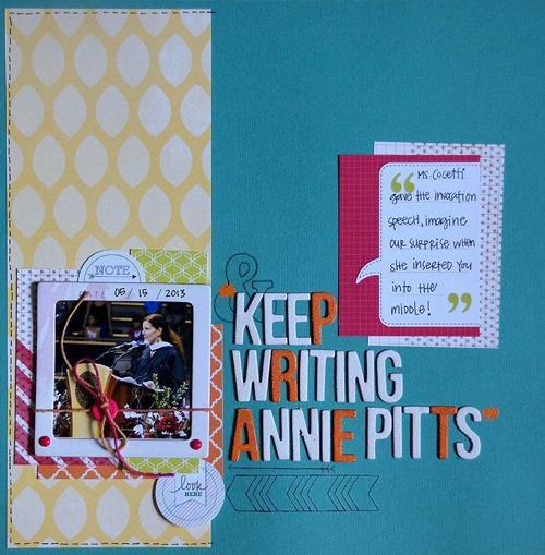 Keep Writing *June Cocoa Daisy*