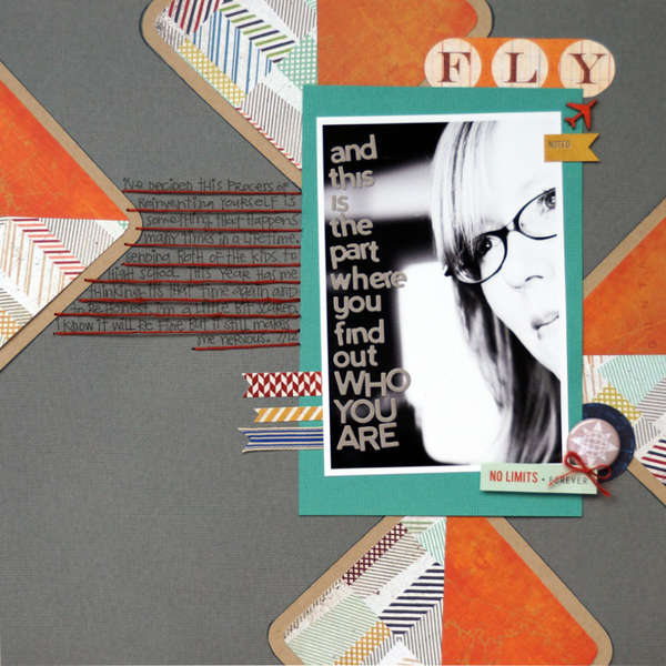 Who You Are *August Cocoa Daisy kit*