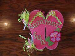 Flip Flop Chipboard Album
