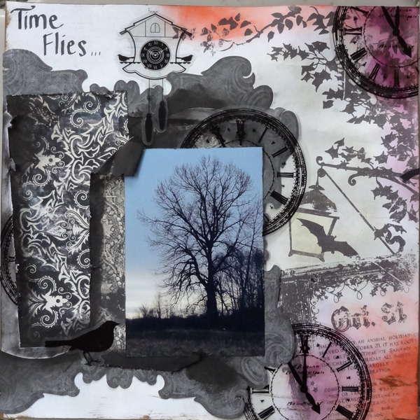 Time Flies **Scraps of Darkness** October Round Robin