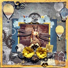 Steampunk Fairy: Scrap Around the World July