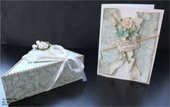 Cakebox with card
