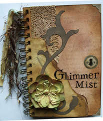 Glimmer mist colour chart album 5x7