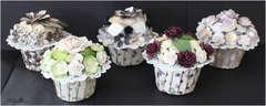Cupcakes with tutorial - Maja Design