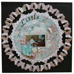 Little girls are made of butterfly kisses and ribbons - Maja Design