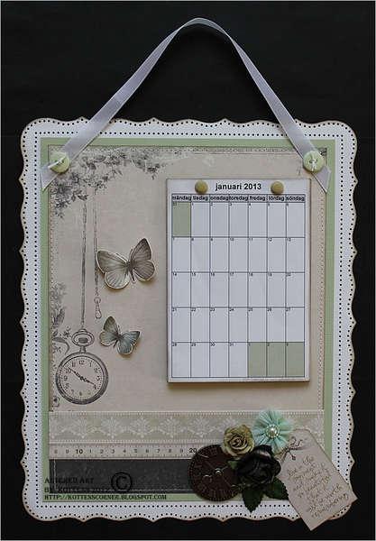 Pion Design calendar