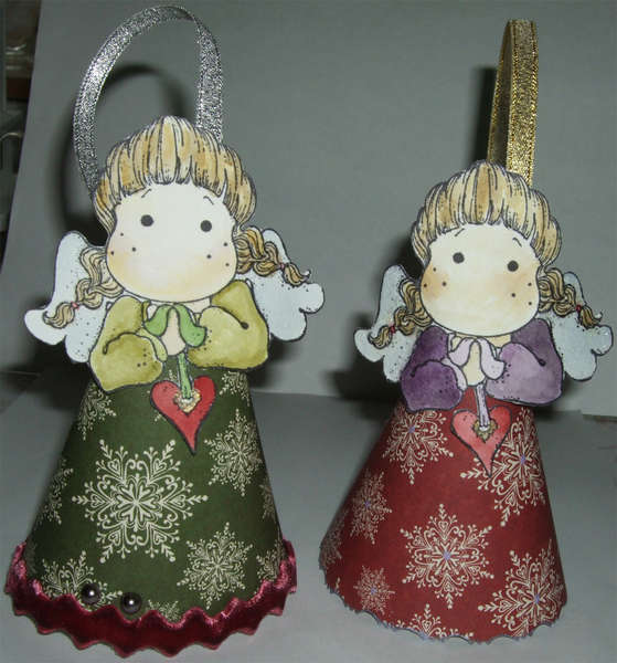 More christmas angels-tree decoration *TILDA*