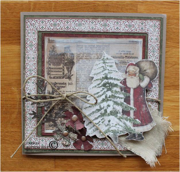 Christmas card - New Maja Design It's Christmas Time
