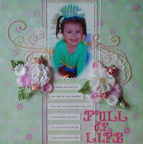 Full of Life **AUGUST PRIMA BAP**