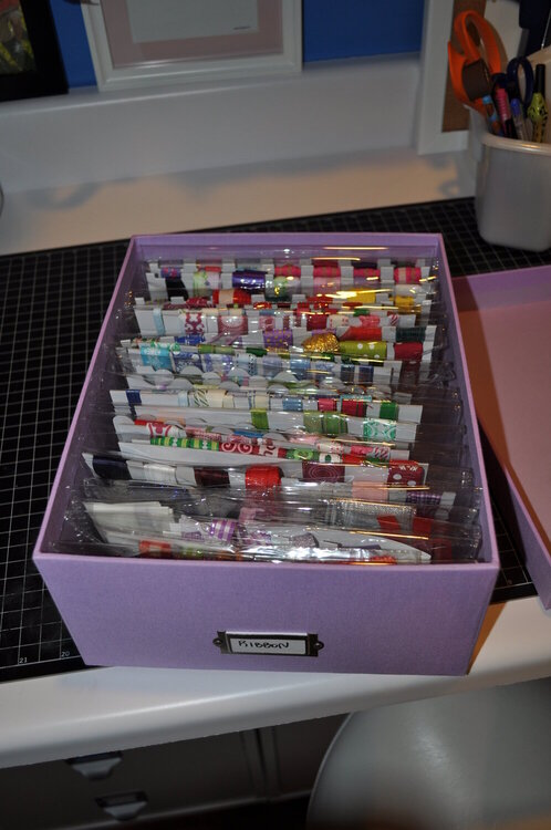 Ribbon boxes, 2 of these