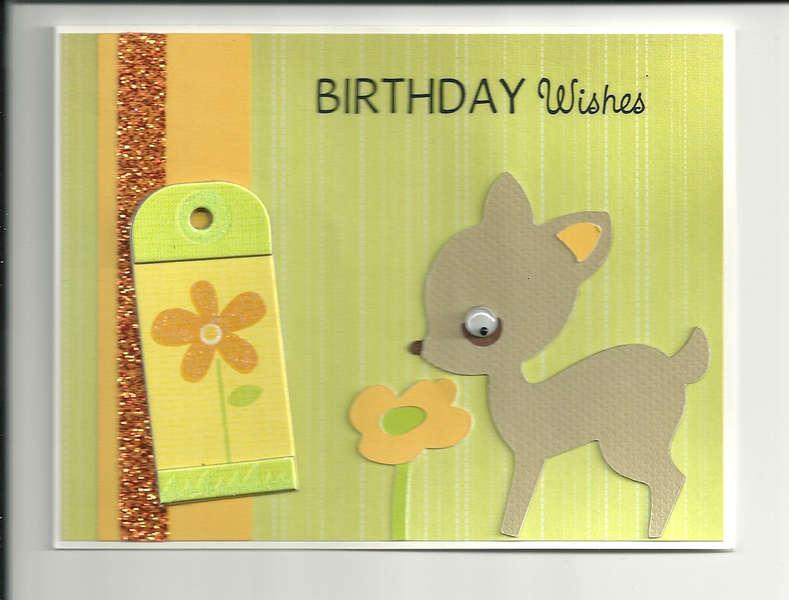 birthday fawn