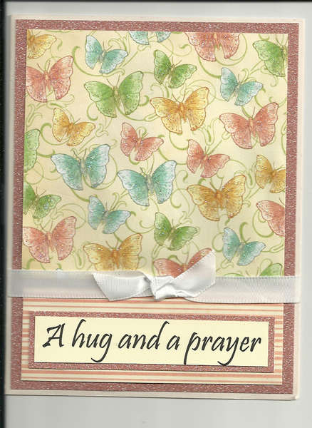 Hug and a prayer