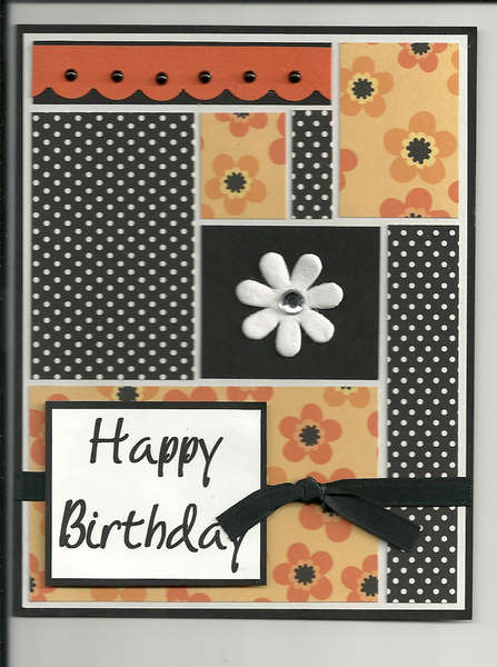 birthday color block