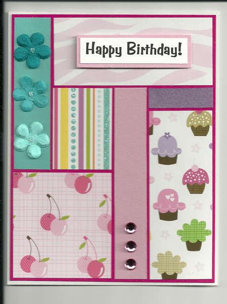 birthday colorblock