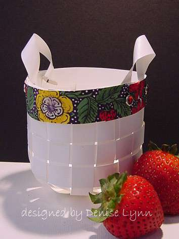 Paper Basket by Denise