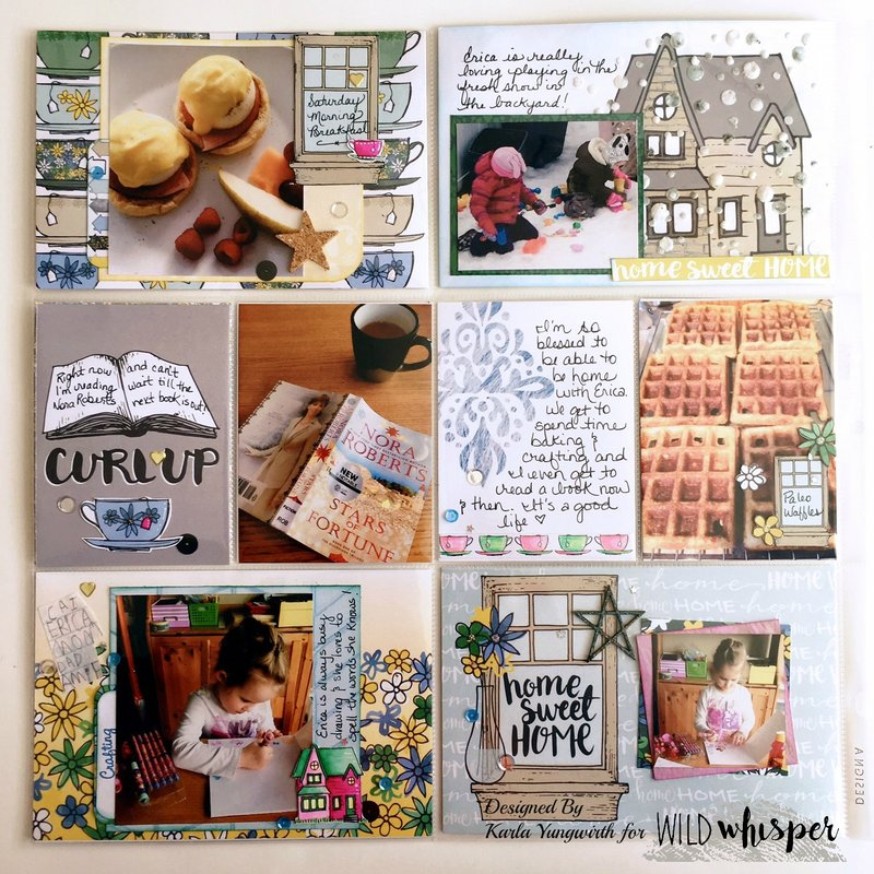 No Place Like Home Pocket Page Layout - Pg 2