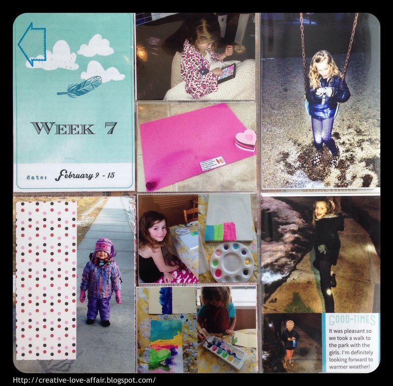 Week 7 Project Life 2015
