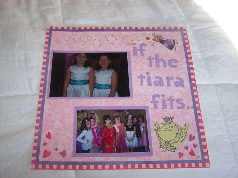 If the tiara fits....