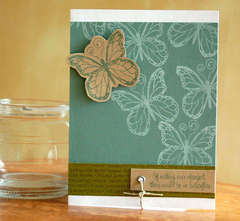 No Butterflies card