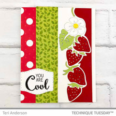 You Are Cool Strawberries