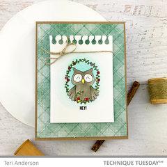 Hey Framed Owl