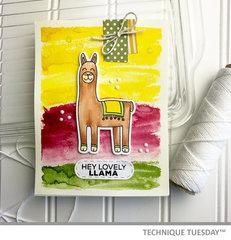 Hi Lovely Llama