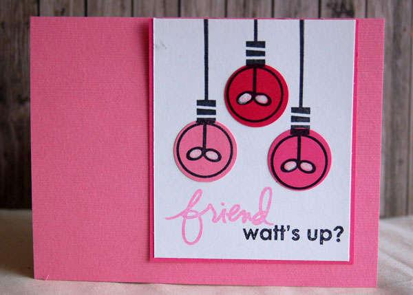 Pink Watt's Up