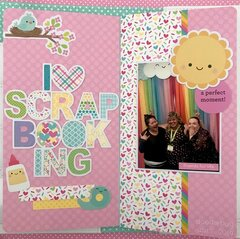 I love scrapbooking