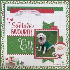 Santa�s Favourite Elf