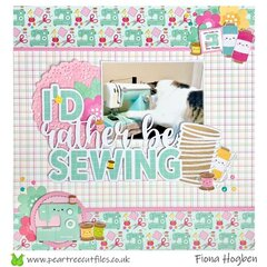I�d rather be sewing