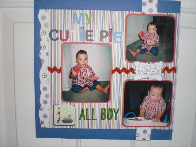 MY CUTIE PIE ALL BOY