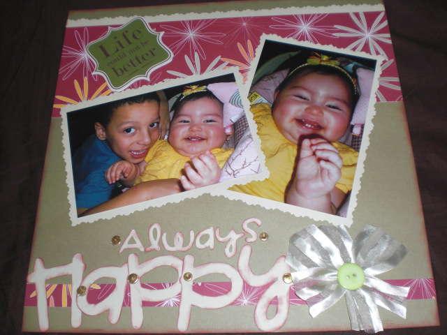 always happy