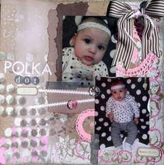Circle Challenge Polka Dot Love