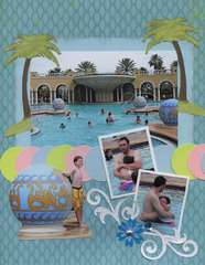 Day At The Pool