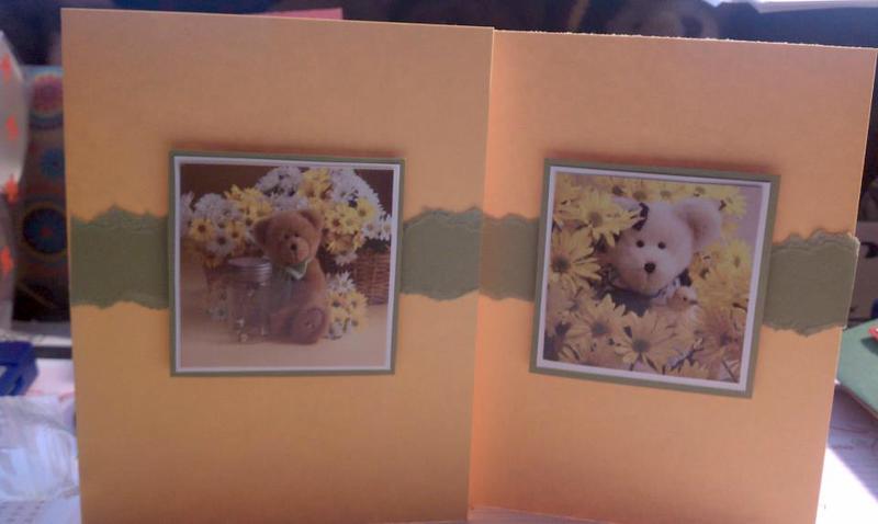 Spring Bears Cards