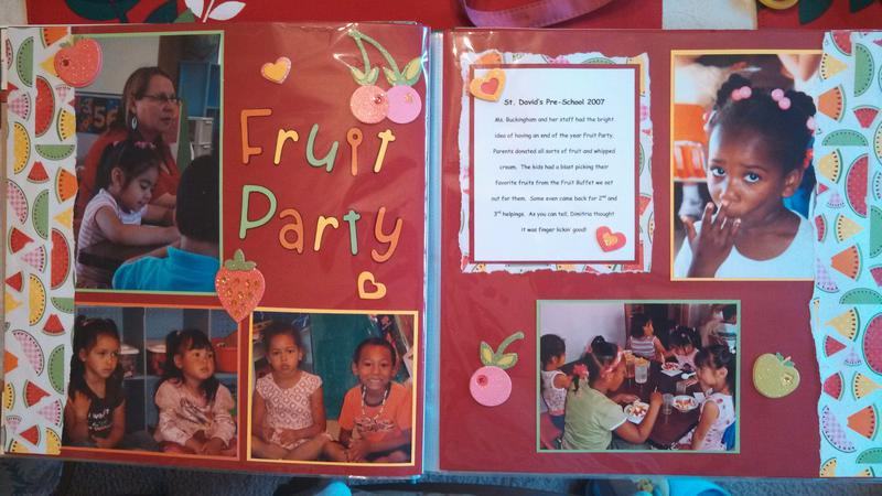 Pre-K Fruit Party Layout #1